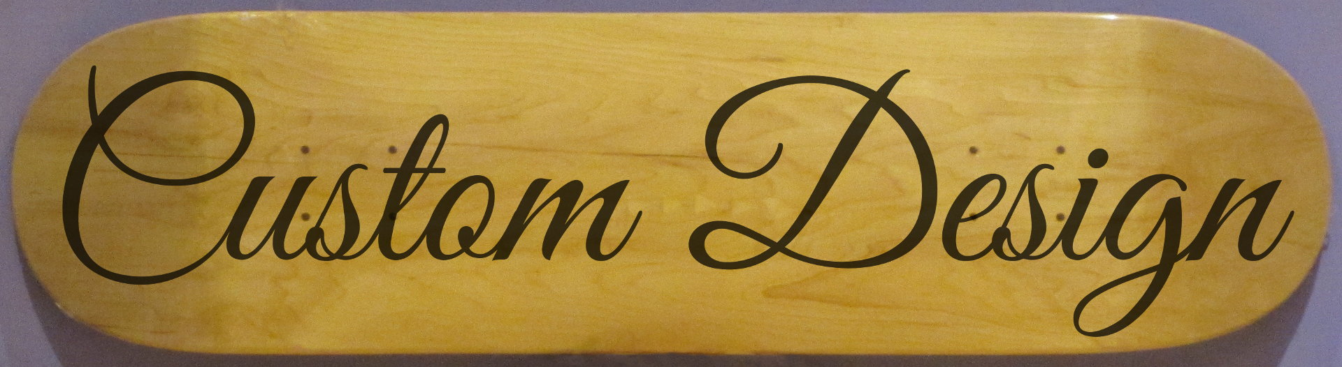 Custom Design Laser Engraved Deck